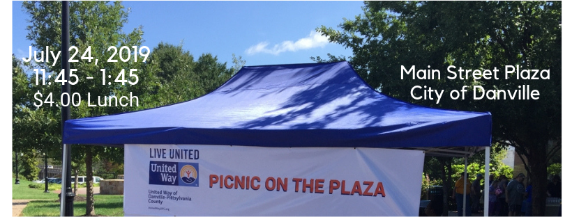 Picnic on the Plaza--Bringing the community together every month April through October since 2018.